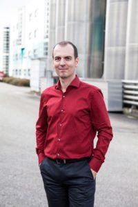 Erleichtert: Competec-Gründer Roland Brack
