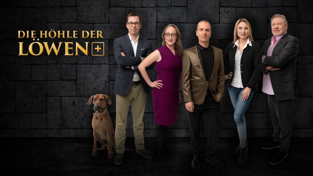 Die fünf «Löwen» (v.l.): Tobias Reichmuth mit Hund, Bettina Hein, Roland Brack, Anja Graf und Jürg Marquard